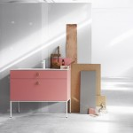 Fredrik Wallner's bathroom furniture for Swoon can be customised online