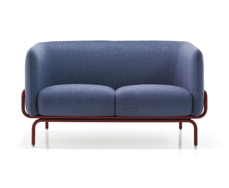 Chandigarh sofa by Doshi Levien for Moroso