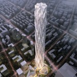 Construction starts on Smith and Gill's ice-inspired skyscraper for Chengdu