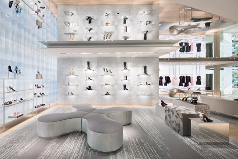Christian Dior Furniture Christian Dior Tokyo Flagship