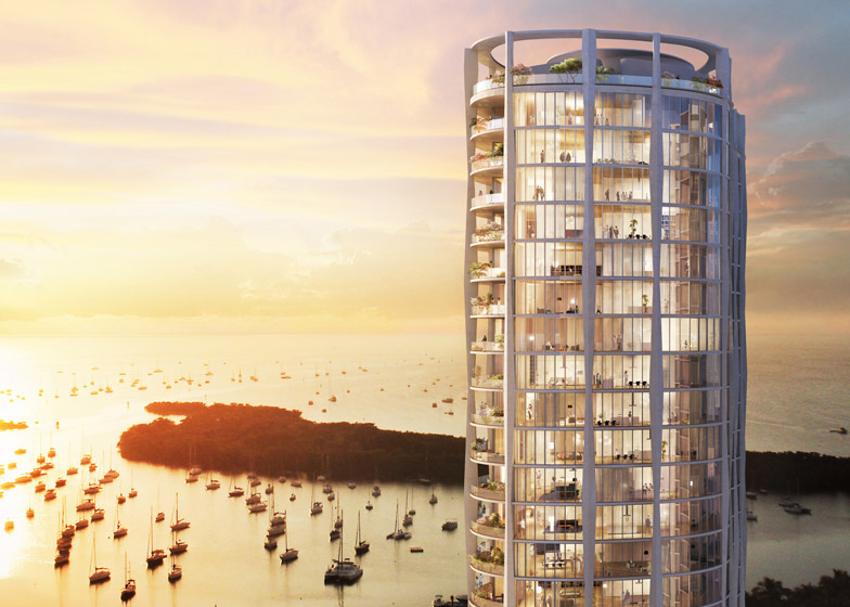 Towers at Coconut Grove by OMA