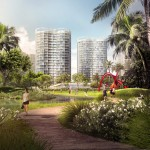 "OMA reveals trio of ""peanut-shaped"" towers for Miami's Coconut Grove"