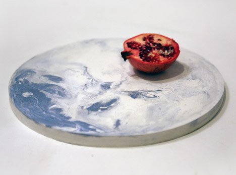 Concrete Tableware by Alessia Giardino