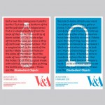 Competition: win a set of V&A exhibition posters by Barnbrook Studio