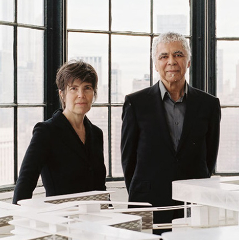 Elizabeth Diller and Ricardo Scofidio