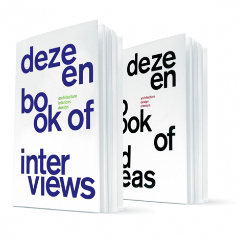 Special offer! Buy both Dezeen books and save £4
