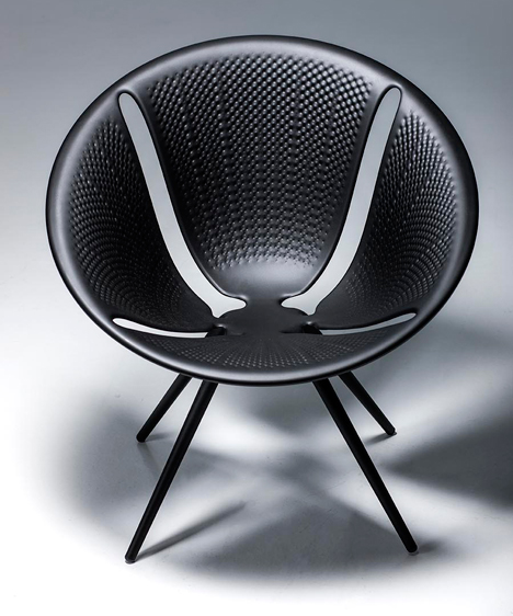 Diatom chair by Ross Lovegrove for Moroso