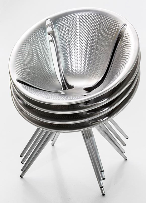 Diatom chairs by Ross Lovegrove for Moroso