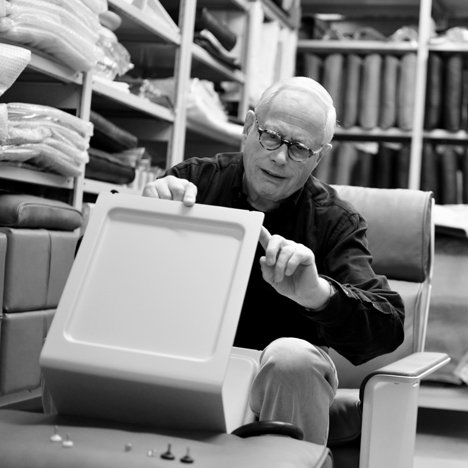 Dieter Rams with the 621 Side Table