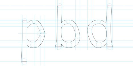 Dyslexie typeface by Christian Boer