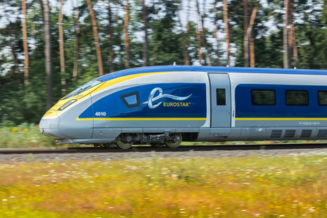 Eurostar unveils train design by Pininfarina to celebrate 20th anniversary