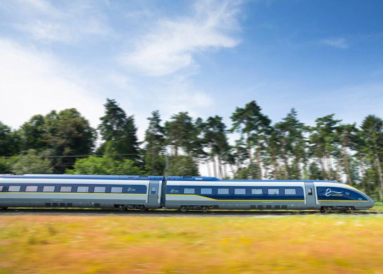 Eurostar redesign by Pininfarina
