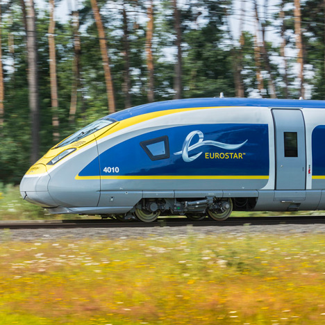 Eurostar unveils train design by Pininfarina&ltbr /&gt to celebrate 20th anniversary