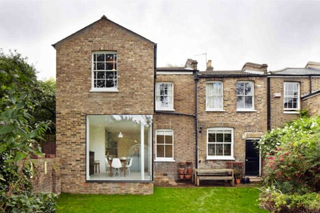 London house extension by Cousins and Cousins