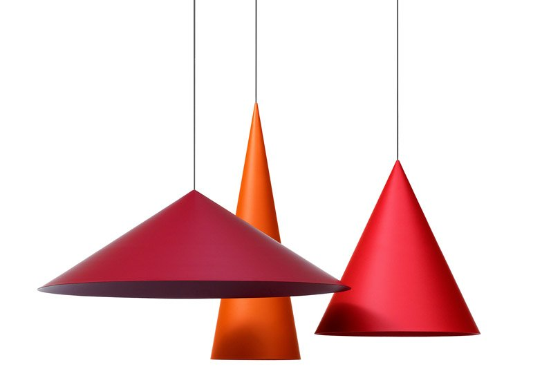 Claesson koivisto rune designs conical pendant lamps for wstberg claesson koivisto rune designs giant conical pendant lamps for wstberg aloadofball