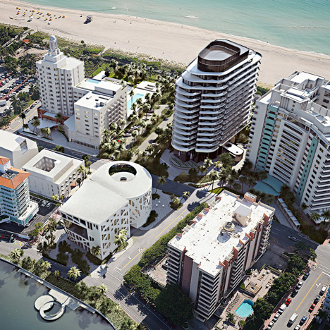 Faena Miami Beach development by OMA and Foster + Partners