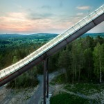 Sweco Architects modernises Swedish ski jumps ahead of 2015 world championships