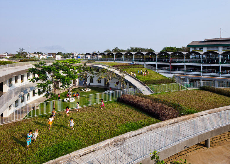 Farming Kindergarten by Vo Trong Nghia