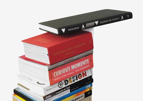 Fiction bookstand by Sebastian Bergne