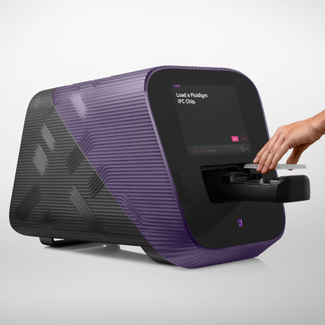 Yves Behar designs DNA testing machine