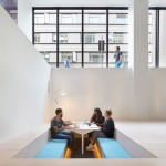 Paul Crofts Studio sinks seating areas into floor of London office