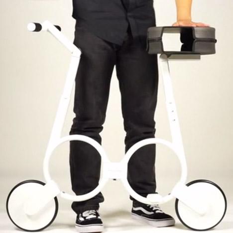 Folding Bike by Impossible Technology