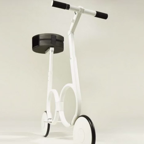 Folding Bike by Impossible Technology