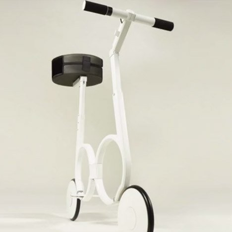Impossible Technology's electric bicycle folds away into a ...
