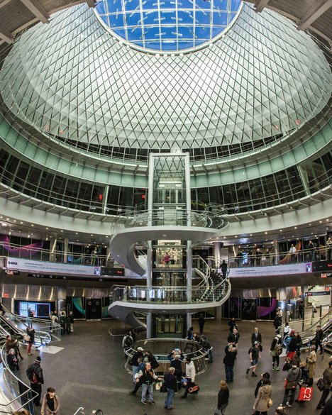 Fulton Center by Grimshaw