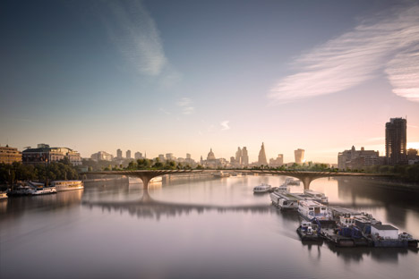 Garden Bridge by Thomas Heatherwick