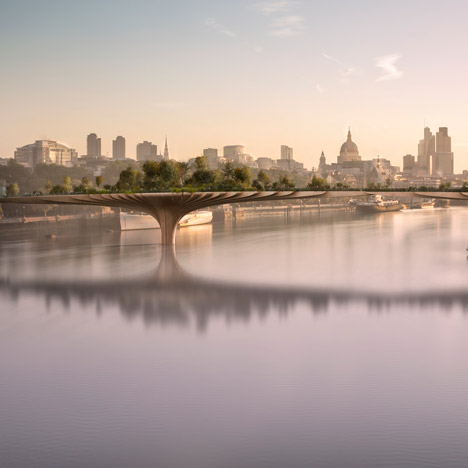 Heatherwick's Garden Bridge soars over first planning hurdle