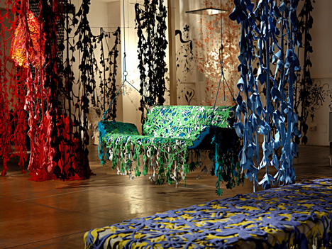 Happy Ever After collection by Tord Boontje for Moroso