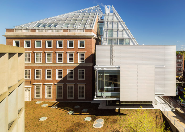 Harvard Art Museums renovation and expansion by Renzo Piano