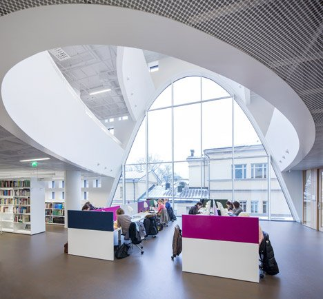Helsinki University Library by Anttinen Oiva Architects
