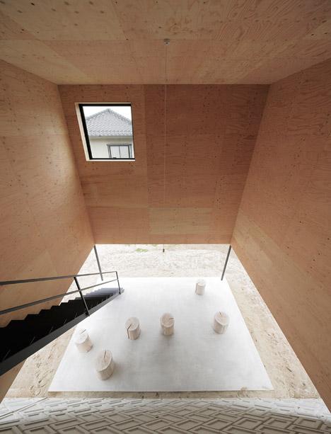 House in Miyake by Yoshio Ohno Architects
