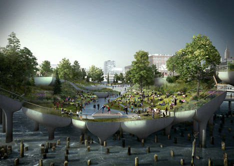 Hudson River Park by Thomas Heatherwick