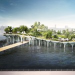 "Thomas Heatherwick to build $130 million ""treasure island"" on New York's Hudson River"