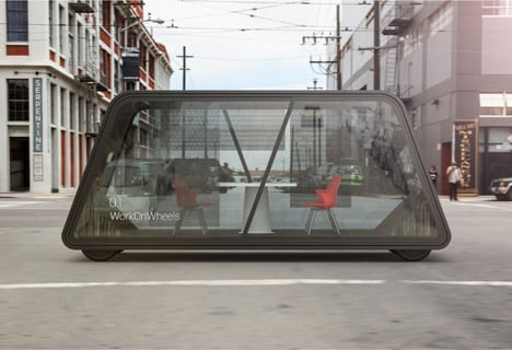 Inverse Commute concept by IDEO