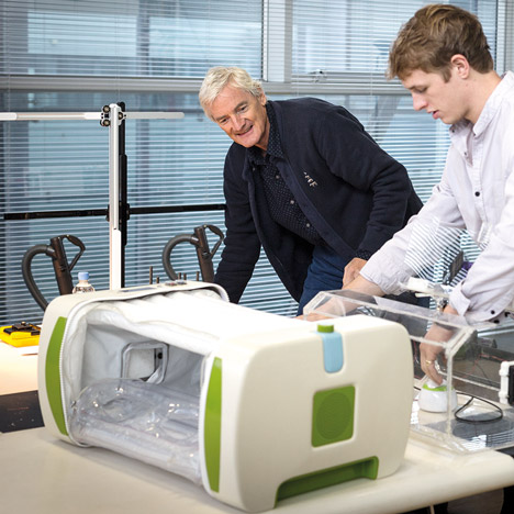 James Dyson Award Winner 2014 MOM Incubator