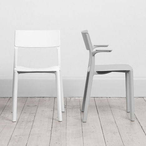 Form Us With Love's Janinge plastic seating range for Ikea