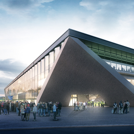 MLZD and Sollberger Bögli win competition to design new Lausanne football stadium