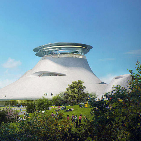 George Lucas Museum of Narrative Art in Chicago by MAD and Studio Gang