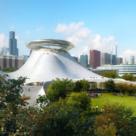 MAD reveals concept design for<br /> George Lucas' Chicago art museum