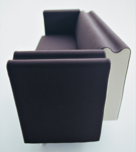M Sofa by Ross Lovegrove for Moroso