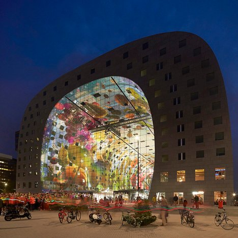 MVRDV's Markthal Rotterdam photographed by Hufton + Crow