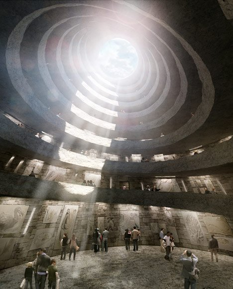 Mass Extinction Memorial Observatory (MEMO) by David Adjaye