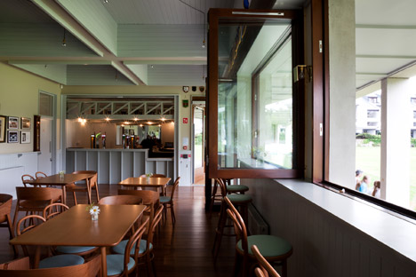 Merrion Cricket Pavilion by TAKA Architects