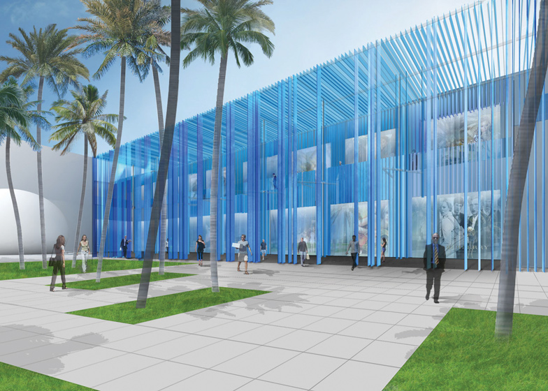 Miami Design District building by Sou Fujimoto