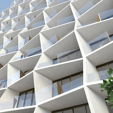 Residential apartment block in Miami Design District by Studio Gang