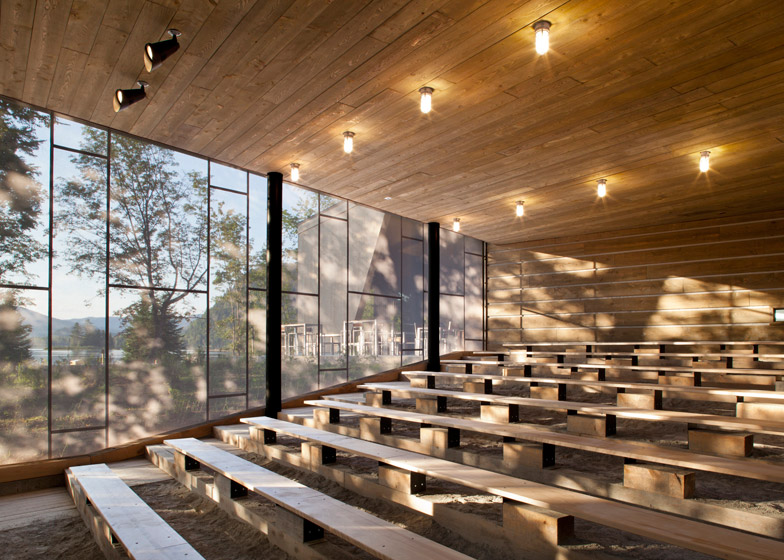 Mont-Tremblant Discovery Centre by Smith Vigeant